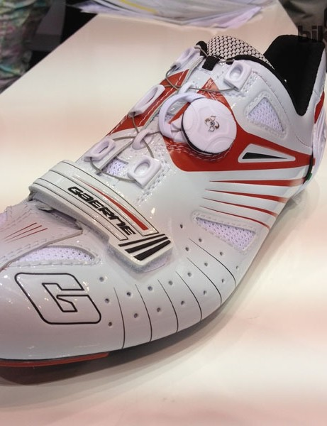 The Gaerne G-Speed – a mid- to top-range shoe with a claimed weight of 272g