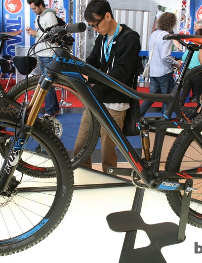 The new Cube Stereo 160 Super HPC SLT 27.5 looks set to be an enduro weapon