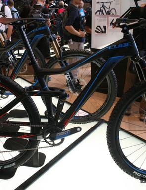 The Cube 120 is the shortest travel bike of the Stereo lineup but shares the good looks of its siblings
