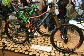 The Two 15 26 downhill bike has been aesthetically tweaked for 2014