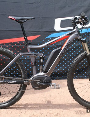 Cube are confident in the idea of pedal-assisted off-road riding