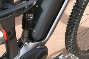 Cube have completely redesigned their frames to accommodate the Bosch motor and power pack