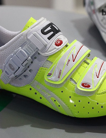 For 2014 the women's-specific Sidi Genius 5 Fit will come in what the company call Vernice Yellow