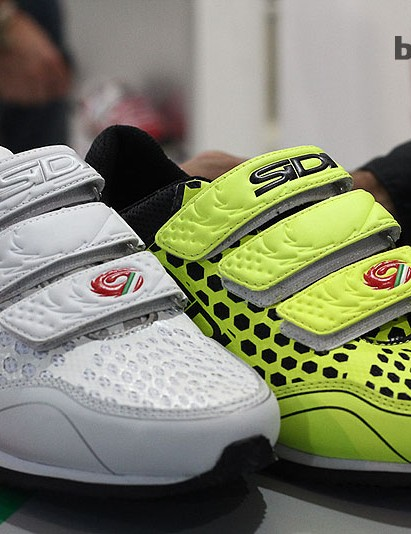 The Frame is Sidi's 'Free Time Shoe' – perfect while you wait to climb on the podium