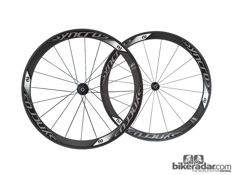 Syncros RR1.0 carbon clincher wheelset