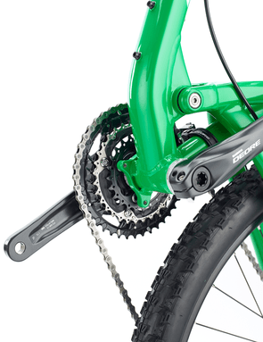 The Santa Cruz Bantam gets ISCG-05 tabs and a second water bottle mount on the underside of the down tube
