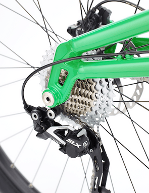 The Bantam is compatible with standard and direct mount rear derailleur setups