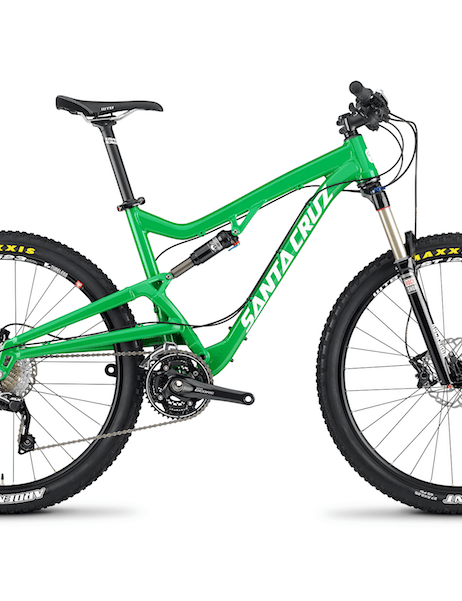 ...as well as gloss green. The Santa Cruz Bantam is available now