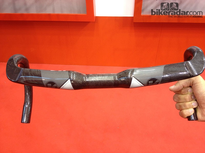 The Vision Metron 4D bar sweeps away from you and is claimed to make you feel less hunched