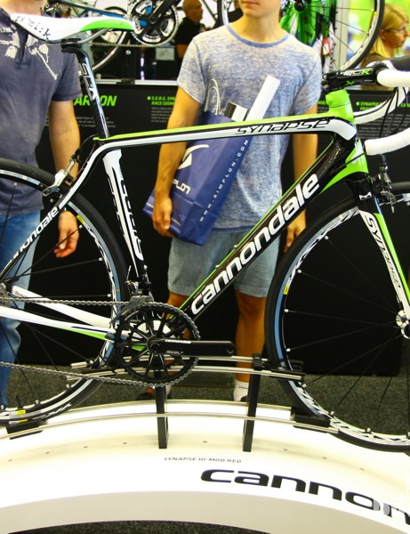 The 2014 Cannondale Synapse line was launched earlier this year, with standard brakes and completely overhauled geometry and frame construction