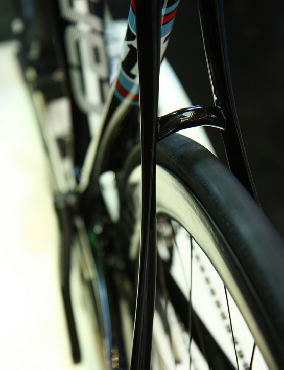 SAVE Plus is Cannondale's descriptor for the heavily shaped seatstays and chainstays, laid up for substantial compliance