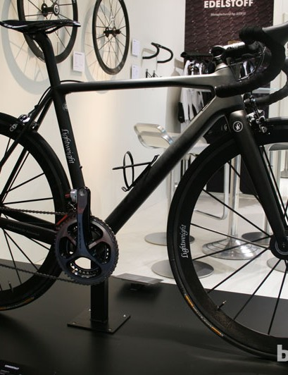 The Lightweight Urgestalt frame weighs 790g; this complete build has Shimano Dura-Ace Di2 and comes in at 5.9kg (13lb)
