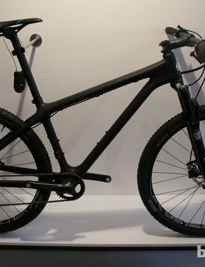 Storck's mountain bike offerings were also impressive in the weight stakes. This Rebel Seven 650b hardtail weighs 8kg (17.6lb)