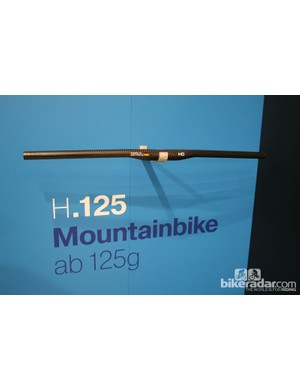 This Haero Carbon bar is recommended for cross-country and marathon use only. That's because it weighs just 125g despite being 740mm wide