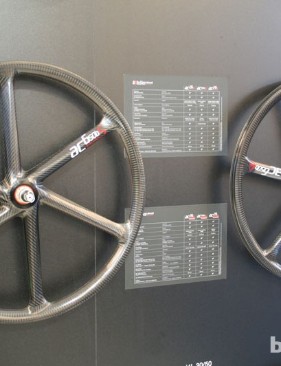 Bike Ahead Composites now offer clinchers in 26in, 650b (27.5in) and 29in sizes. Weights start at 1,348g a set