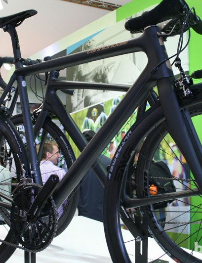 Cannondale's SuperSix EVO Black Inc had to be included in the weight awards