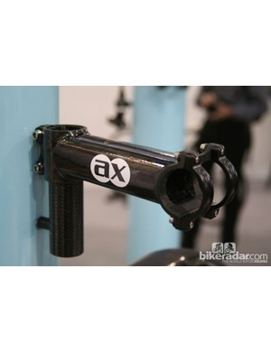 AX lightness also produce the world's lightest oversize stem, at 68g for a 70mm model. It'll cost you, though - €590!