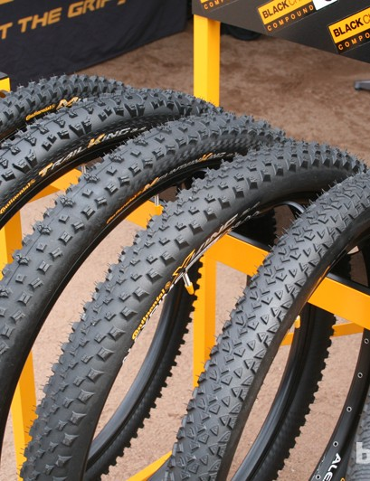 Continental are working on making their whole off-road range available for 650b and 29er wheels for 2014