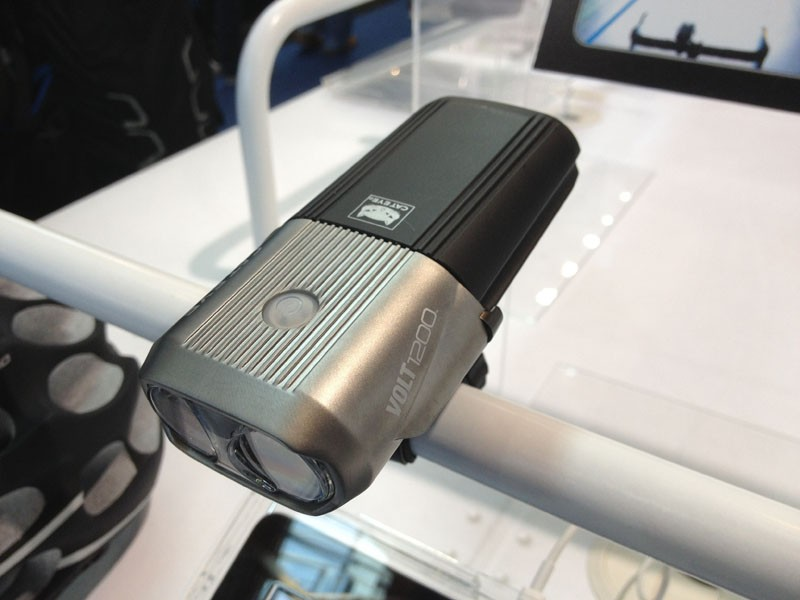 The CatEye Volt 1200 is a 1,200-lumen, fully rechargeable front light that should find favour among night riders
