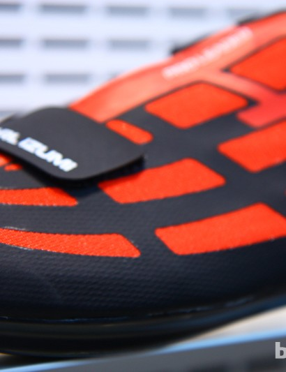 TPU film strengthens the upper on the Pearl Izumi Pro Leader road shoe