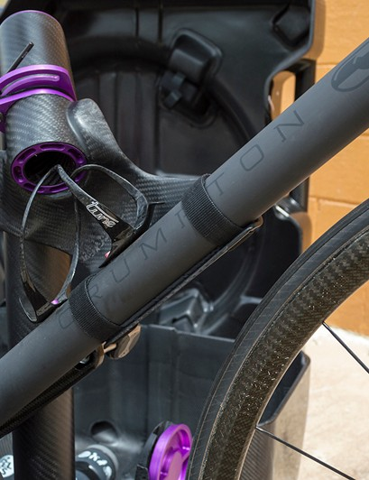 It's almost inconceivable to pack this gorgeous custom Crumpton into a travel case without padding, but Fairwheel Bikes says it isn't necessary