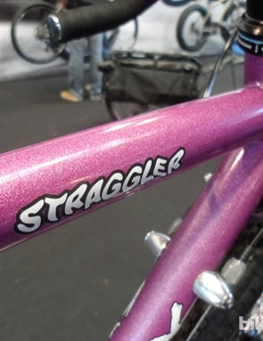That purple hue of the Glitter Dreams up close on the Surly Straggler