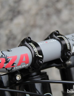 Chromag's 35mm BZA is intended for use on gravity bikes, but a growing number of 35mm diameter handlebars and stems are positioned for trall and all-around use