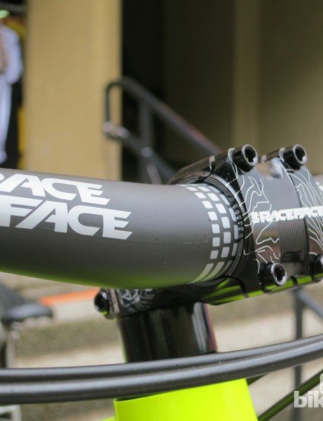 Race Face is introducing 35mm handlebars and stems across most of it's 2014 range