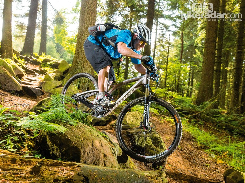 Niner prides itself on being different and top design details make the Jet 9 stand out from the 29er crowds