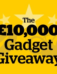One lucky reader will win £10,000 worth of gadgets as part of T3's Great Gadget Giveaway