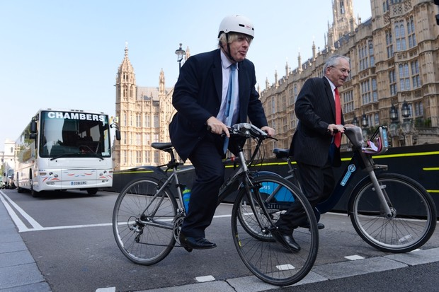 Mayor Boris Johnson and London transport commissioner Sir Peter Hendy have launched an action plan to tackle lorry danger