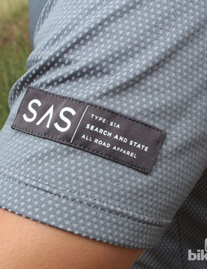 Logos on Search and State's garments are refreshingly discreet