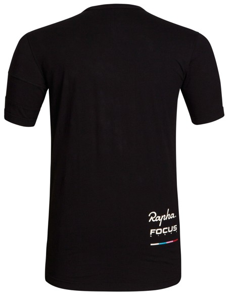 Rapha Cross T-Shirt from the back