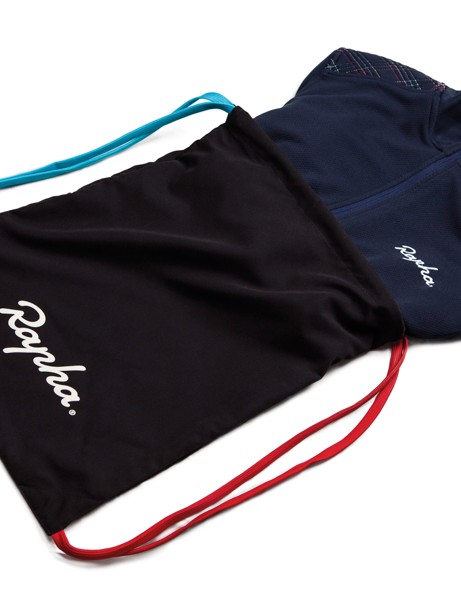 The Rapha Cross Longsleeve Jersey comes with this bag