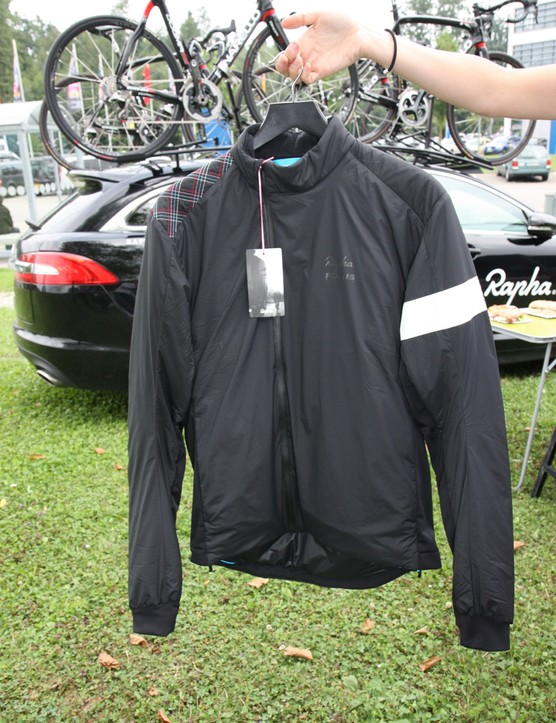 The Rapha Cross Transfer Jacket is subtle on the outside...
