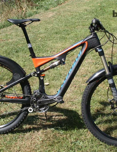 Mudhugger front and rear mudguards are made in the UK from 100% recycled material