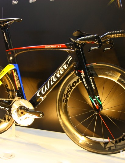 The Wilier Twin Blade is a rather remarkable looking time trial rig