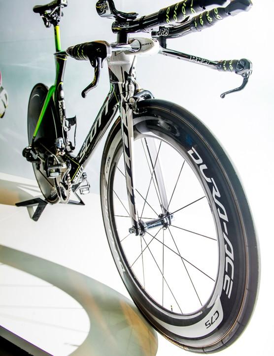 Svein Tuft's Orica-Greenedge Scott Plasma TT