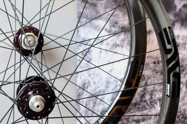 ENVE's Smart 3.4 Disc wheelset comes with a disc-specific carbon clincher rim only for now