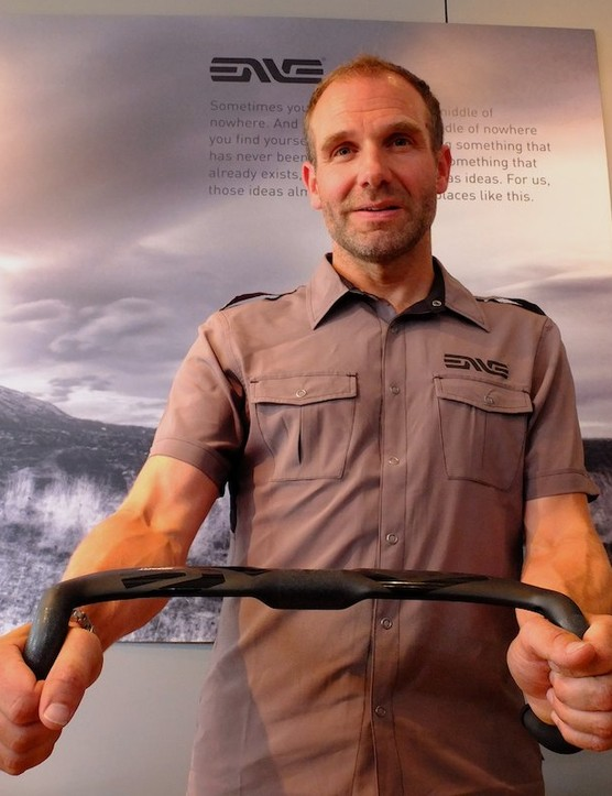 Ex-F1 aerodynamicist Simon Smart is the man behind ENVE's wind cheating carbon designs