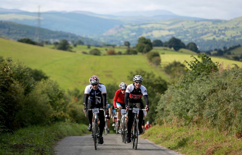 Sabotage at Etape Cymru failed to puncture the enjoyment of up to 1,700 cyclists