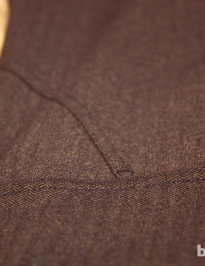 A herringbone knit is used on the Ride Leggings