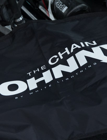 The Chain Johnny from White Lightning - just like a hospital gown, it cover the dirtiest bits