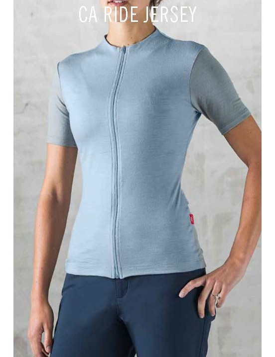 The Giro New Road includes a subset called California made in, you guessed, it, California. The CA Ride Jersey is a merino/nylon piece