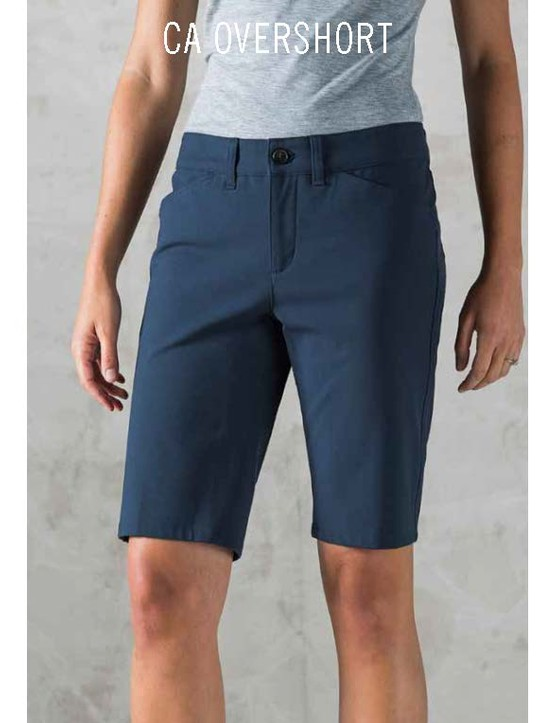 The Giro New Road CA Overshort is made of Schoeller four-way stretch