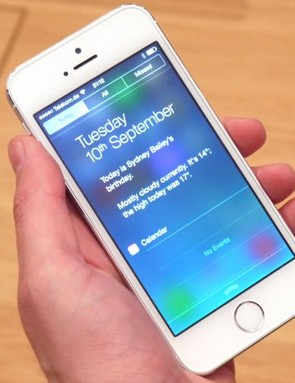 The new iPhone 5S - Longer battery life for fitness users
