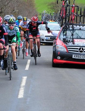 Field sizes at UK road races could grow under plans mooted by British Cycling