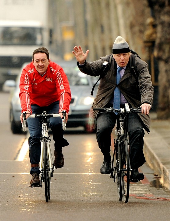 Chris Boardman, left,  has also expressed interest in the national cycling post