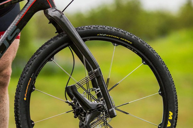 The Lauf Trail Racer 29in fork weighs just 980g and offers 60mm of undamped travel