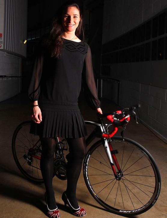 Dame Sarah Storey is urging more people to ride to work